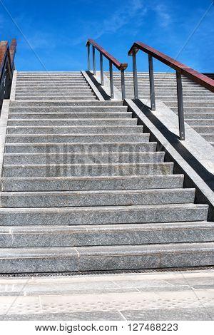 Exterior Urban Concrete Staircase