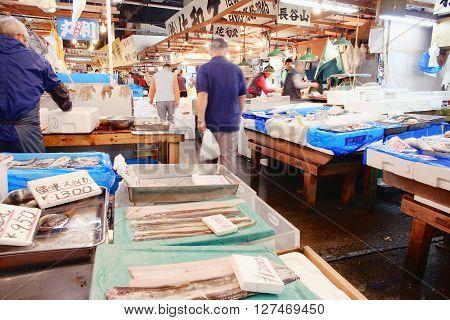 Tokyo - Tsukiji Market