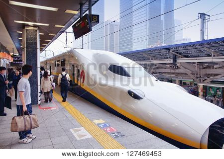 Japan High Speed Train