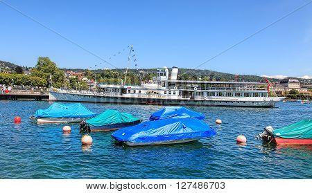 Zurich, Switzerland - 3 July, 2014: MS