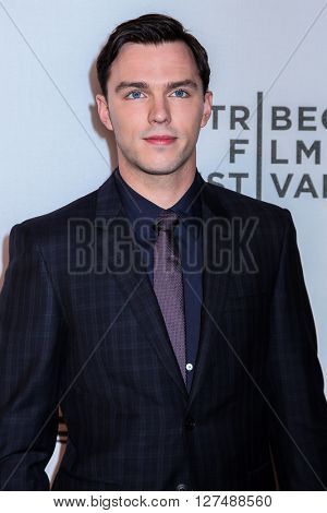 NEW YORK, NY - APRIL 18: Actor Nicholas Hoult  attends 'Equals' Premiere -2016 Tribeca Film Festival at John Zuccotti Theater at BMCC Tribeca Performing Arts Center on April 18, 2016 in New York City.