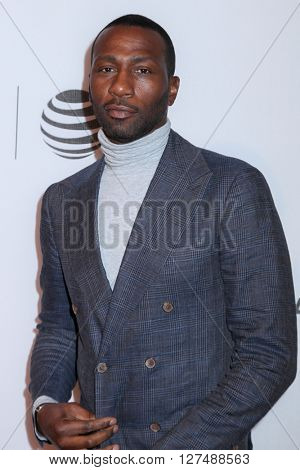 NEW YORK, NY - APRIL 18: Leon Robinson attends the ' Equals' premiere during the 2016 Tribeca Film Festival at John Zuccotti Theater on April 18, 2016 in New York City.