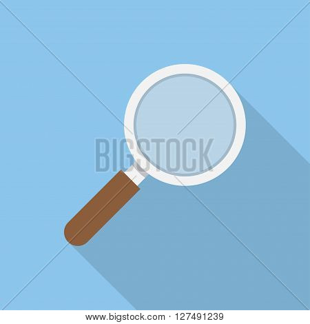 Search icon vector. Flat style Search icon for web sites