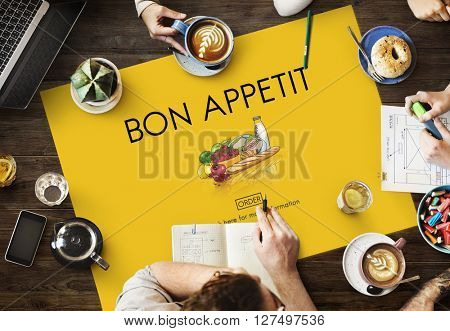 Bon Appetti Delicious Meeting Concept