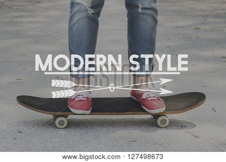 Enjoy Every Moment Modern Life Concept