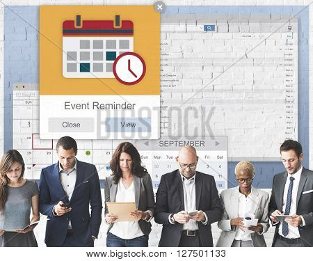 Appointment Event Reminder Planner Concept