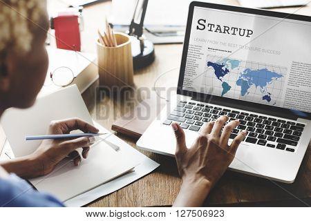 Start-up Business Enterprise Launch Opportunity Concept