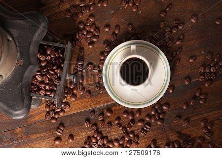 Old Coffee Grinder,