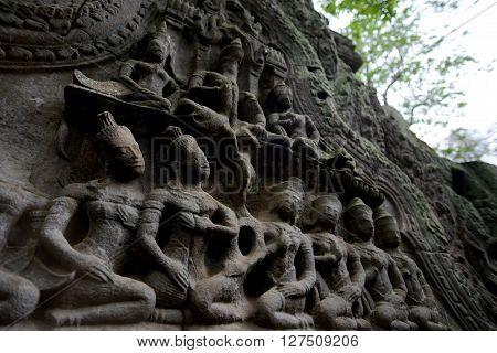 Asia Cambodia Angkor Ta Prohm