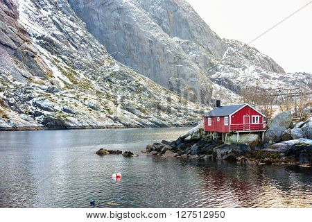 Nusfjord, Lofoten Islands, Norway