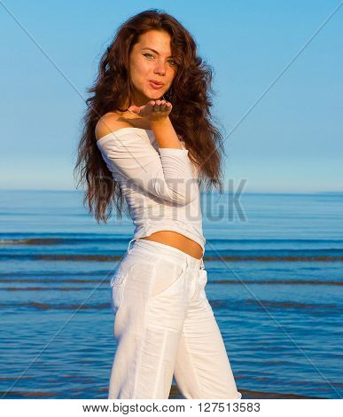 Beach Female Pleasure