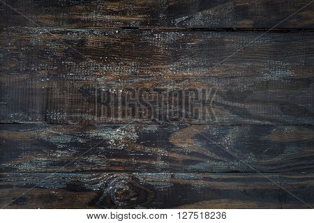 Grungy Wooden Background With Peeling White Paint