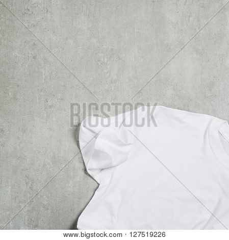 White shirt on the table