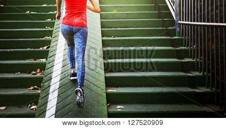 Athlete Attractive Exercise Fit Lifestyle Sportive Concept