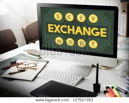 Finance Foreign Exchange Money Symbol Concept