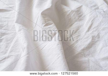 Wrinkled Canvas Cloth Texture Background