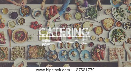 Restaurant Meal Food Cuisine Catering Concept