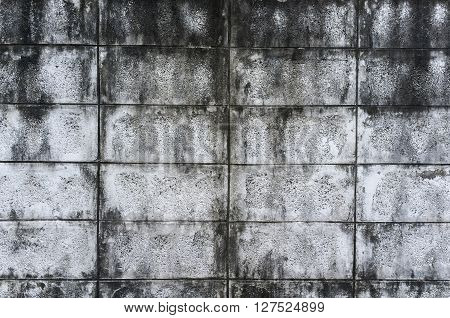 Old concrete wall as background, Grunge old brick wall vintage background