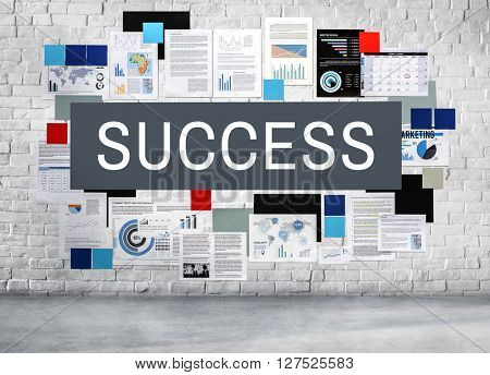 Success Achievement Development Goal Concept