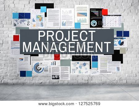 Project Management Planning Strategy Methods Concept