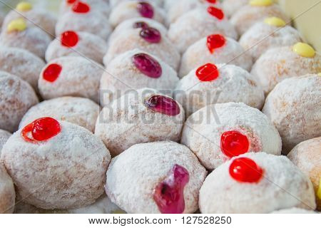 Delicious Donuts With Icing