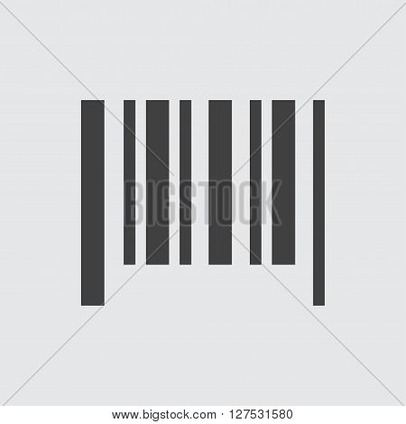 Bar code icon illustration isolated vector sign symbol
