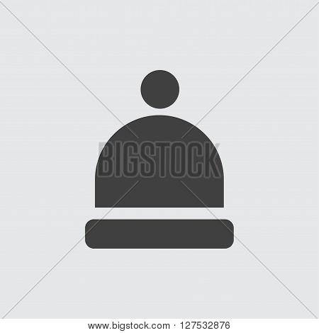 Winter cap icon illustration isolated vector sign symbol