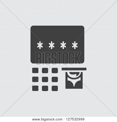 ATM icon illustration isolated vector sign symbol