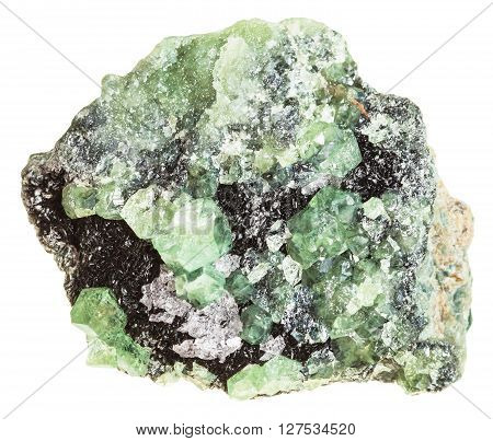 Demantoid Crystals (green Andradite Garnet)
