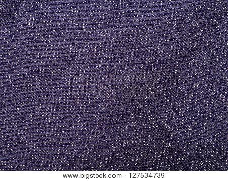 Textile Background - Dark Violet Silk Fabric