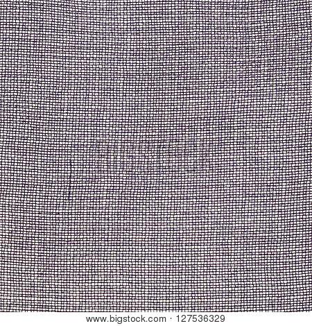 Square Textile Background Gray Transparent Fabric