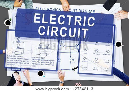 Electronic Circuit Electricity Voltage Concept