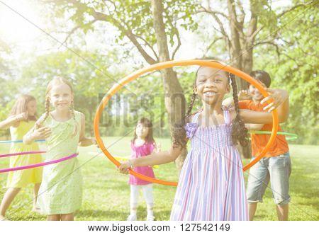 Children Playing child Childhood Friendship Concept