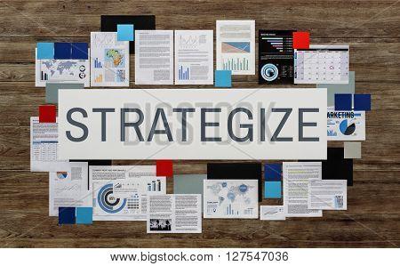 Strategize Tactics Vision Solution Concept