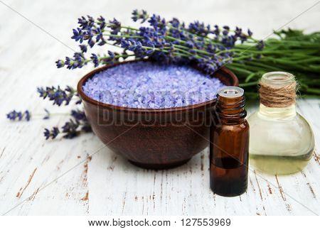 Lavender, Sea Salt And Oil