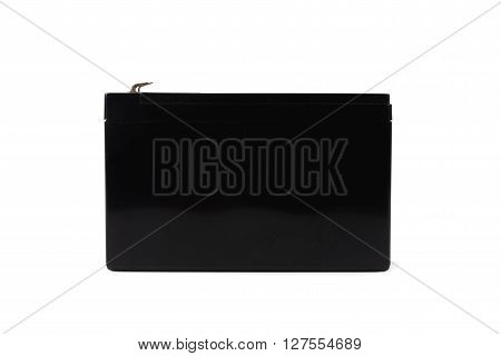 Sealed Ups Battery  Isolated On White Background