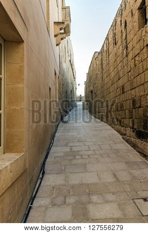The Narrow Streets Of The City