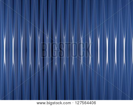 Blue Background With Square Elements.