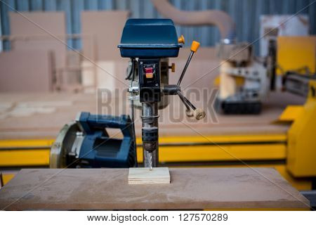 Image of a machine on the workshop