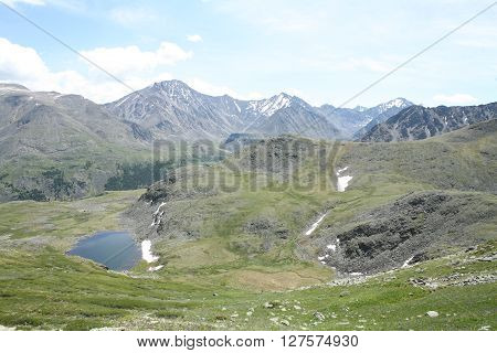 Altai region Russia Siberia nature mountain landscapes