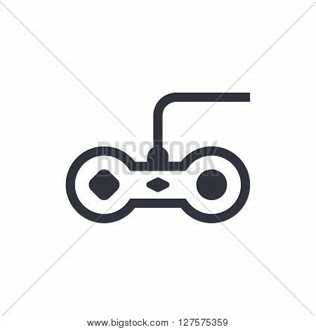 Joystick Icon In Vector Format. Premium Quality Joystick Symbol. Web Graphic Joystick Sign On White