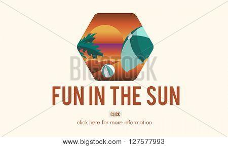 Fun in the Sun Graphic Concept
