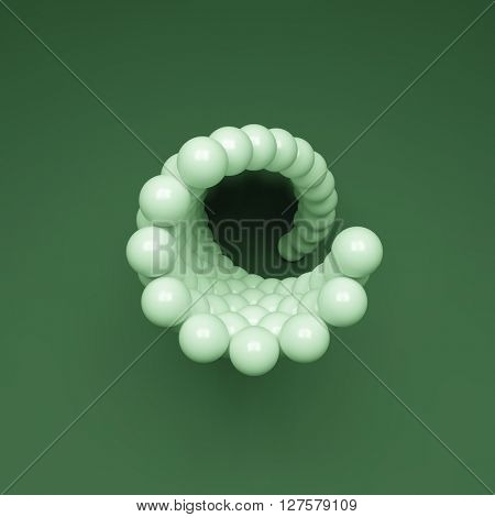3d Spheres Composition. Vector Template. Futuristic Technology Style. Vector illustration.