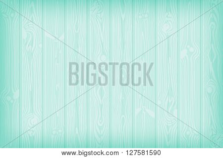 Blue textured wooden background with knots and cracks summer vector illustration