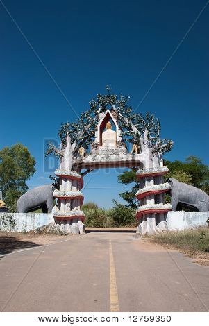 Thai Temple Entrance