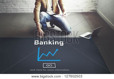 Banking Business Chart Concept