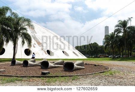 SAO PAULO, BRAZIL - CIRCA APRIL 2016: Oca in Ibiraquera Park, Sao Paulo, Brazil