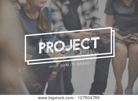 Project Plan Strategy Management Task Venture Concept