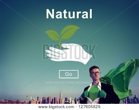 Natural Ecology Environmental Conservation Nature Life Concept