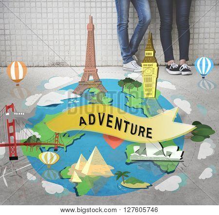 Adventure Destination Experience Explore Journey Concept